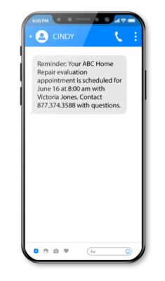 Appt reminders